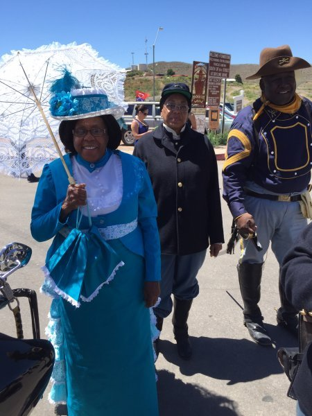 Salute to the Buffalo Soldiers Tombstone 20154