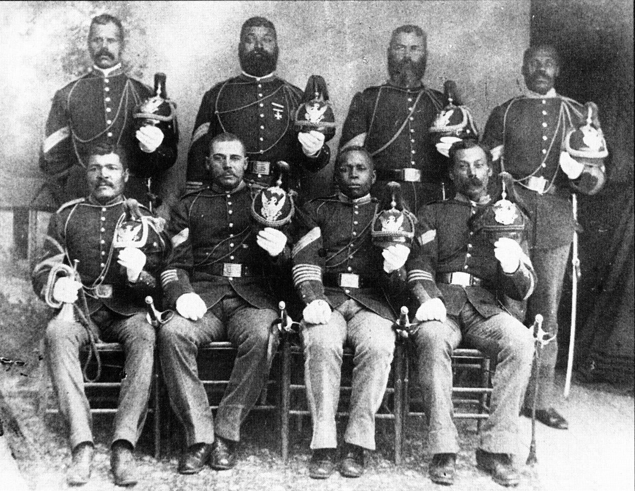 <b>9th Cavalry NCOs - 1889</b>