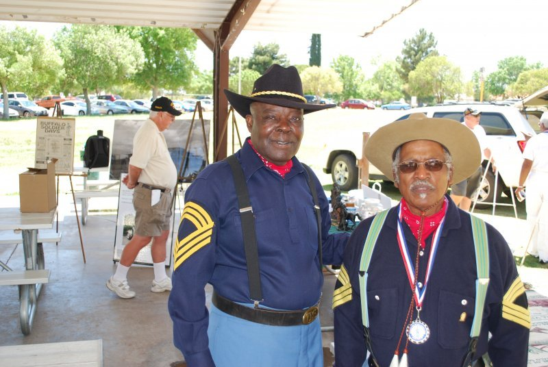 Spirit of the Buffalo Soldiers 20125